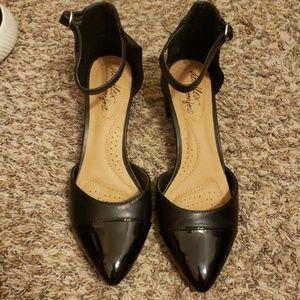 Dexter Black Heels 2in